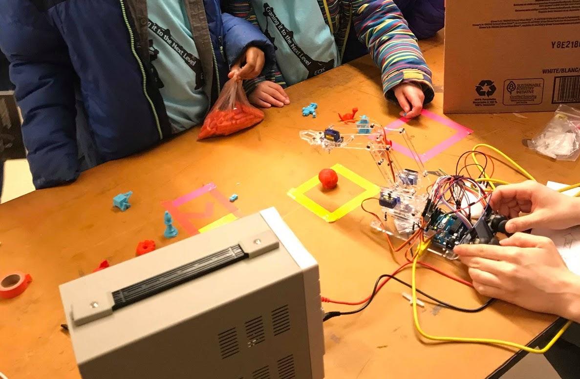 Uiuc Theta Tau Claw An Arduino Powered Robot Arm Wiring Circuits For Robotics